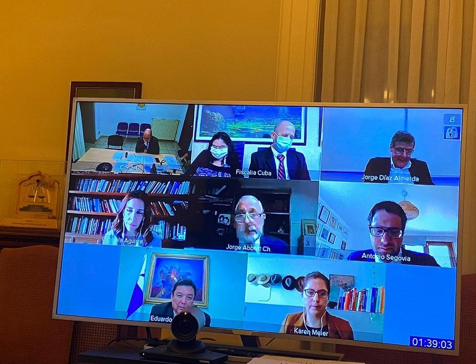 Celebración de la 10ª Reunión virtual del Comité Ejecutivo de la AIAMP, 16 junio 2020