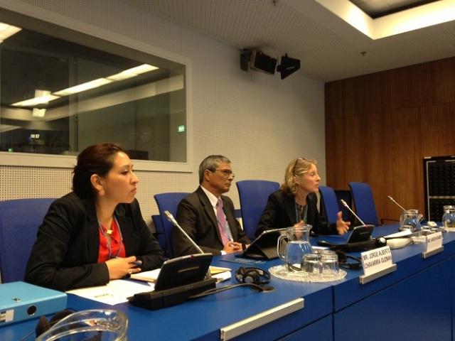 Fiscal General de Costa Rica, expone  en Viena la exitosa experiencia de la Red de Fiscales contra el Crimen Organizado.