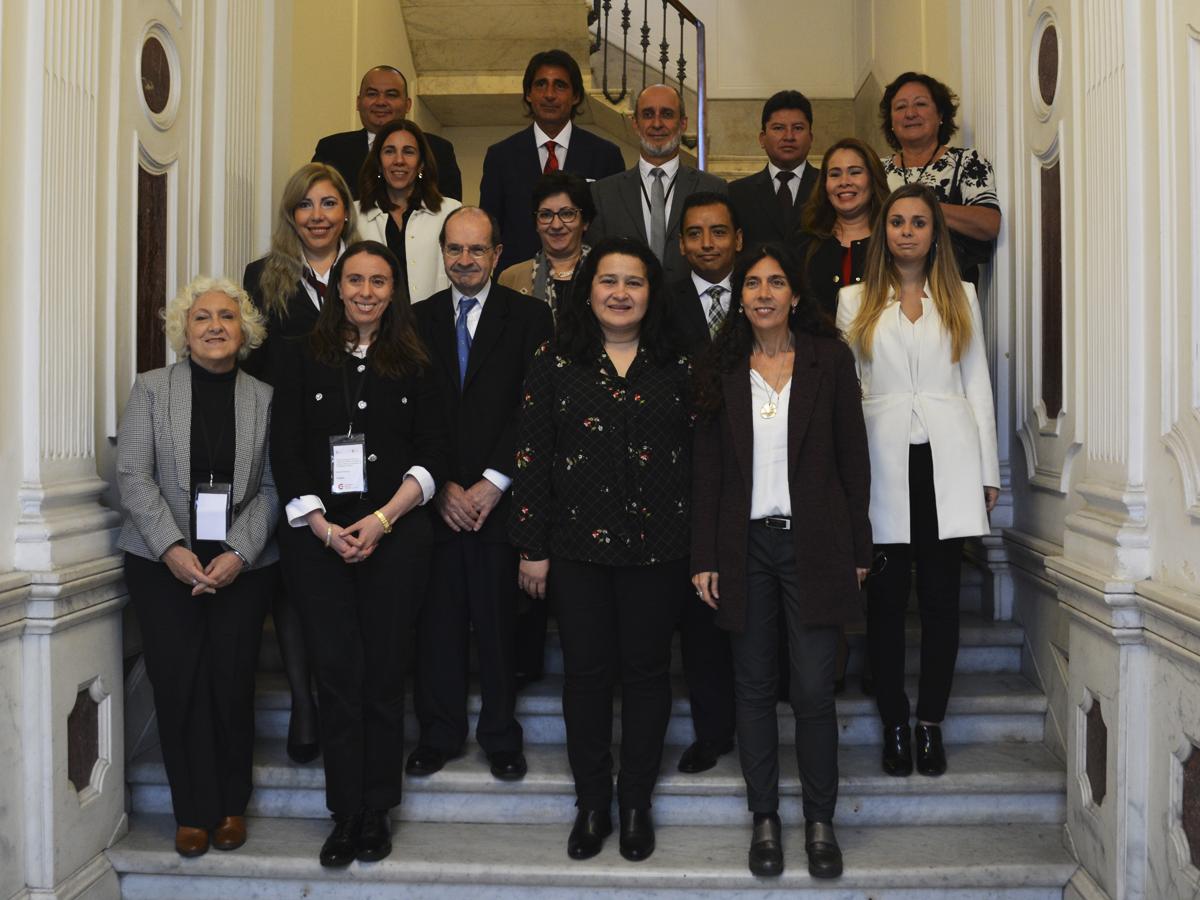Comienzo I Encuentro del Grupo de Trabajo en materia de Principios Éticos en la actuación de los Ministerios Públicos