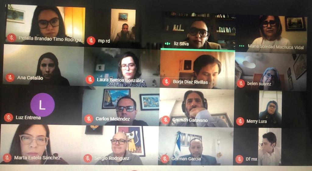 Reunión virtual Red contra la corrupción, 16 junio 2020