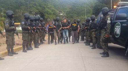 Ministerio Público Hondureño,  desarticula estructura criminal en todo el país con Operación Avalancha