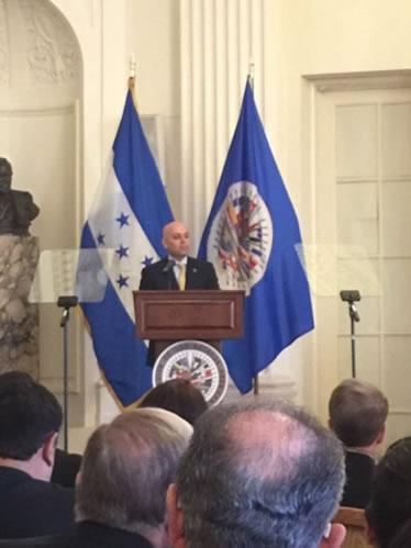 Fiscal General da la bienvenida a la Misión de Apoyo Contra la Corrupción y la Impunidad en Honduras (MACCIH).