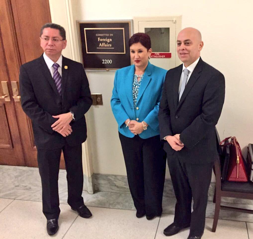 Fiscales Generales del Triángulo Norte de Centroamérica en visita oficial a Washington DC