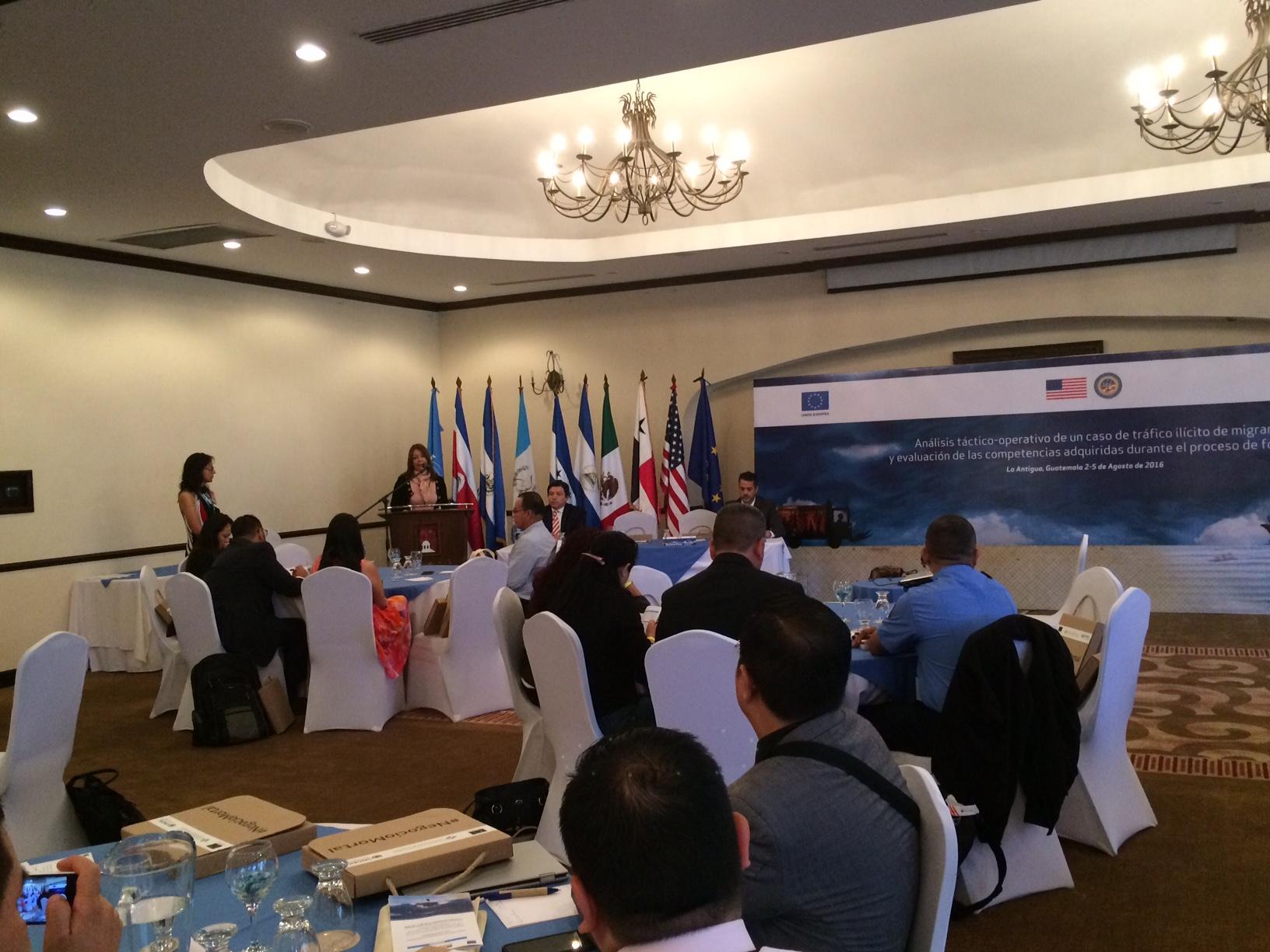 Ministerio Público de Costa Rica participa  en el taller: