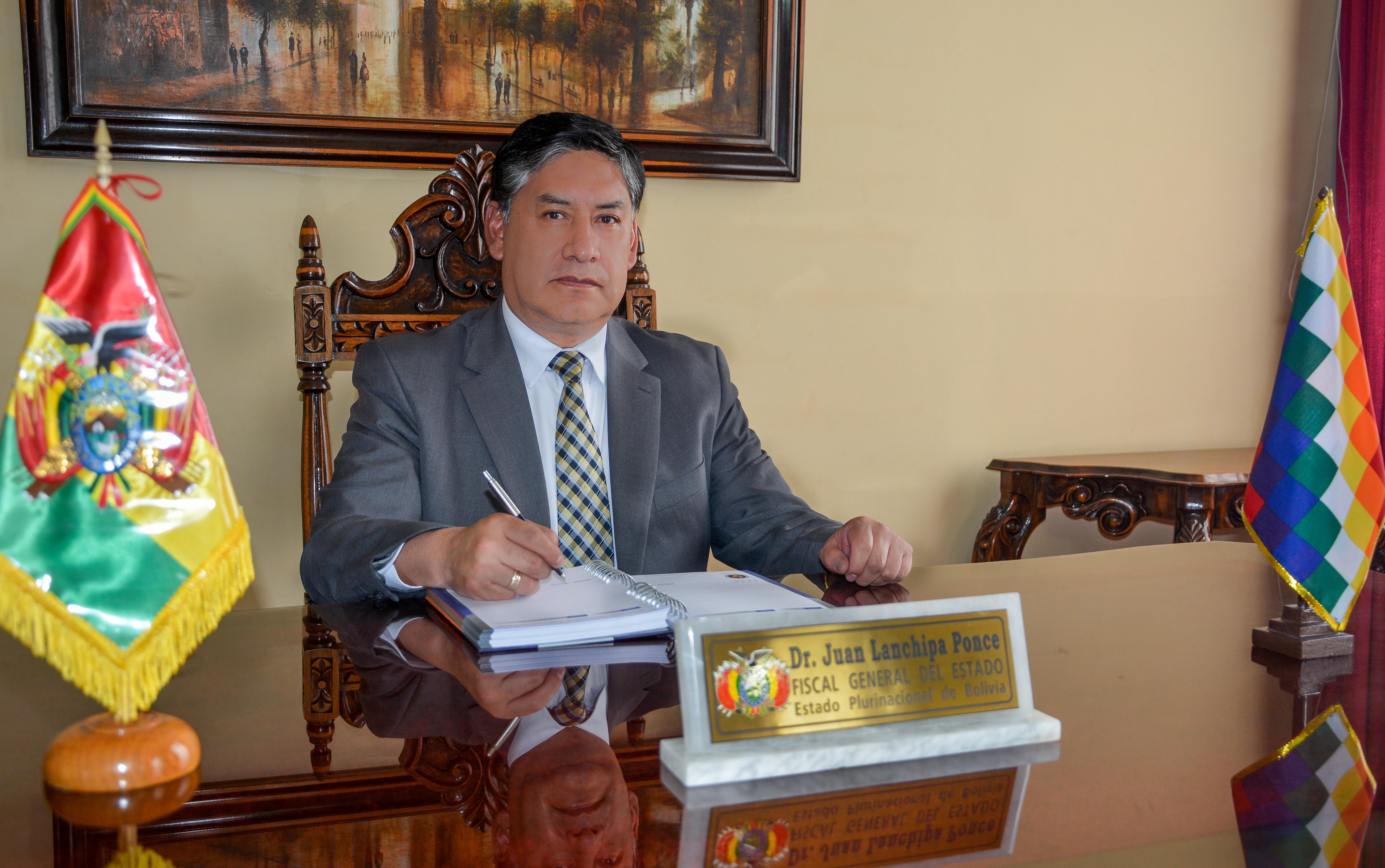 Fausto Juan Lanchipa Ponce - Fiscal General del Estado Plurinacional de Bolivia