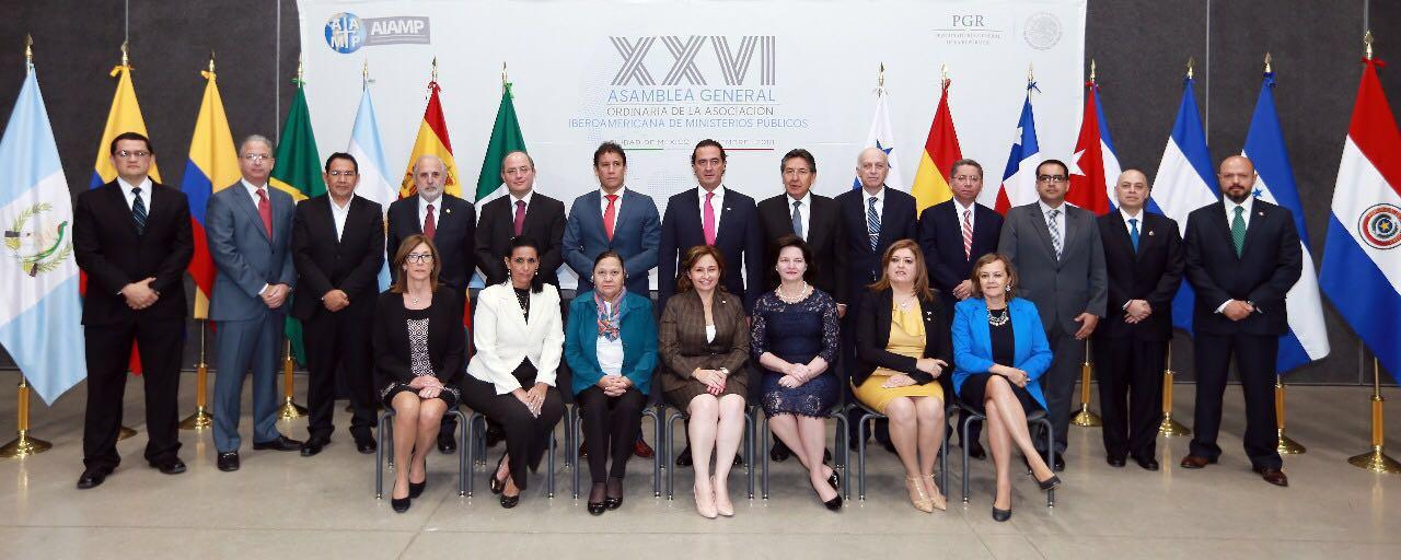 Celebración XXVI Asamblea General Ordinaria de la AIAMP
